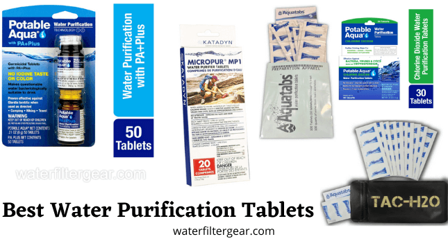 Best Water Purification Tablets