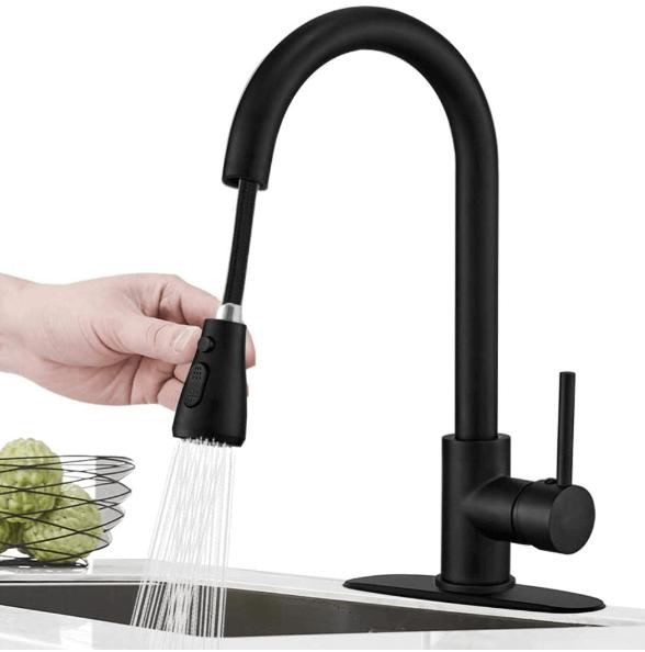 Top 7 Best Black Kitchen Faucet